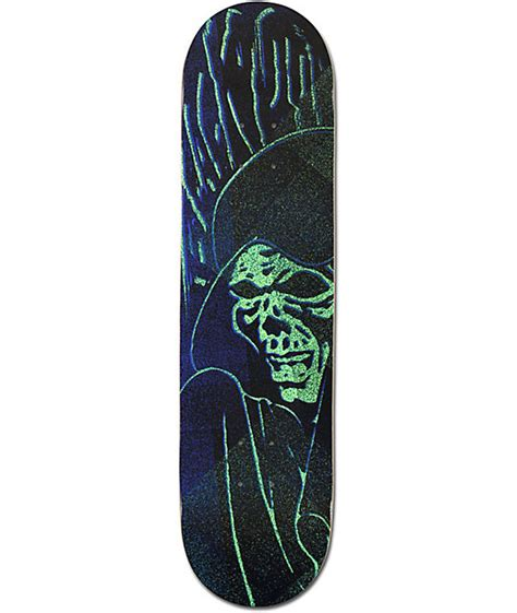 Zumiez Blank Skate Decks by Blackout Reaper 8 0 Quot Skateboard Deck