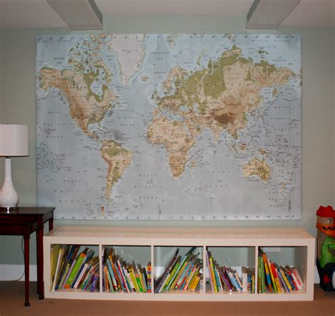 ikea world map twoinspiredesign