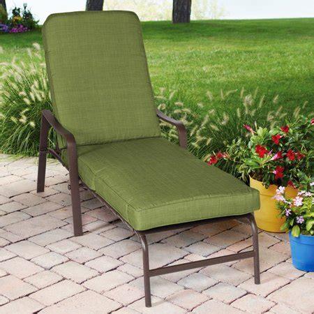 walmart chaise lounge mainstays crossman chaise lounge green walmart