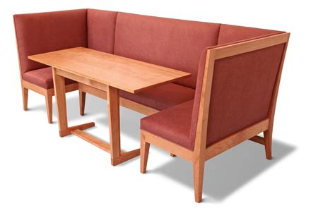Kitchen Banquette Seating With Round Table