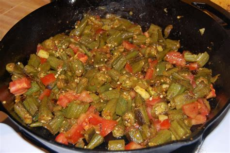 cooking okra seth s food blog bhindi okra