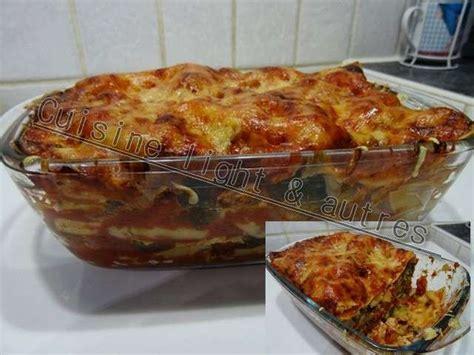 recettes de lasagnes de cuisine light autres