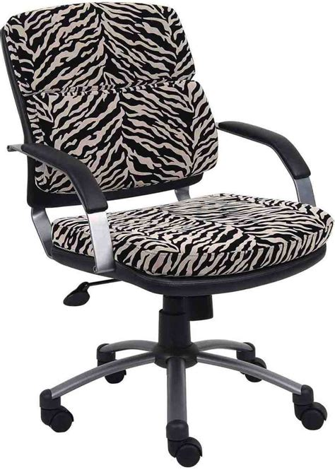 animal print desk chair zebra print desk chair home furniture design
