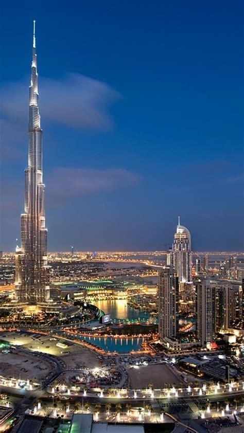 dubai skyscrapers metropolis middle east burj khalifa