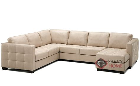 Barrett Leather Stationary True Sectional By Palliser Is