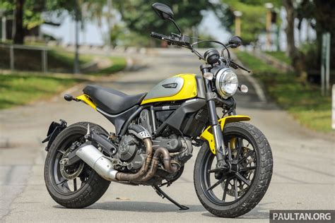 Review Ducati by Review 2016 Ducati Scrambler Icon For Hipsters