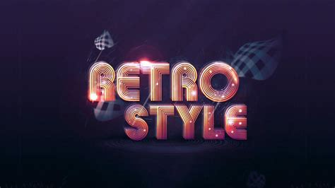 retro and vintage typography tutorials in photoshop and illustrator retrosupply co