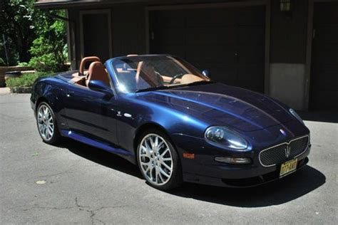 automobile air conditioning service 2005 maserati gran sport engine control buy used 2006 maserati gransport spyder convertible 4 2l in closter new jersey united states