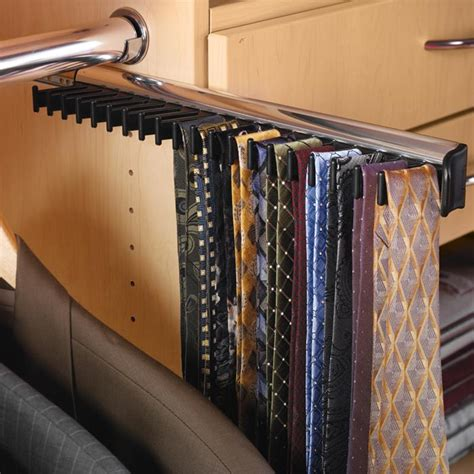 Tie Racks For Closets For Storing Your Ties And Belts
