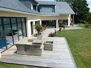 Terrasse En Bois 44 Loire Atlantique Nantes France