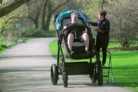 home and interiors magazine sized strollers let parents test out their baby 39 s ride