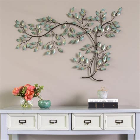 Stratton home decor wood flower over the door wall decor 43 50 w x 1 25 d x 14 50 h multi by stratton home décor currently unavailable. Stratton Home Decor Patina Tree Branch Wall Decor