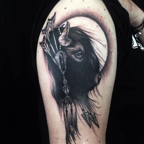 25+ Best Ideas About Bison Tattoo On Pinterest Buffalo