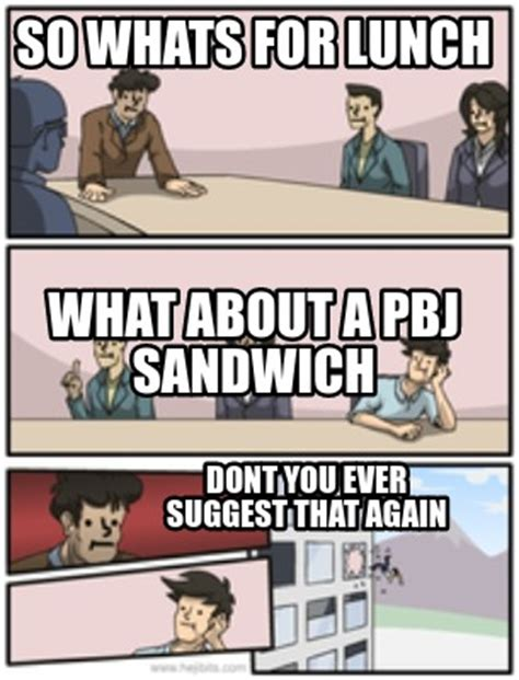 What About Meme - meme creator so whats for lunch dont you ever suggest that again what about a pbj sandwich