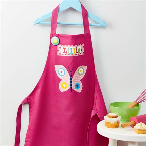 Girly Kitchen Aprons by Personalised Apron By Tilliemint