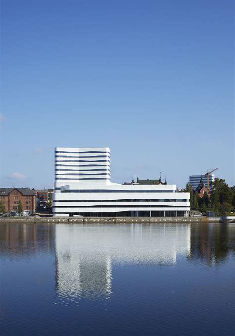 Inneneinrichtung Neuer Komfort Unterm Dach by Kulturzentrum Snohetta Und White Arkitekter