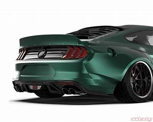 S550-2018-ABS | Clinched Flares Widbody Kit Ford Mustang Models 2018+