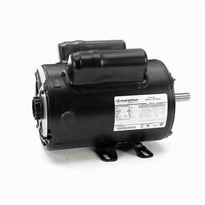 2 Hp Air Compressor Motor  1 Phase  3600 Rpm  115  230 V  56 Frame  Odp