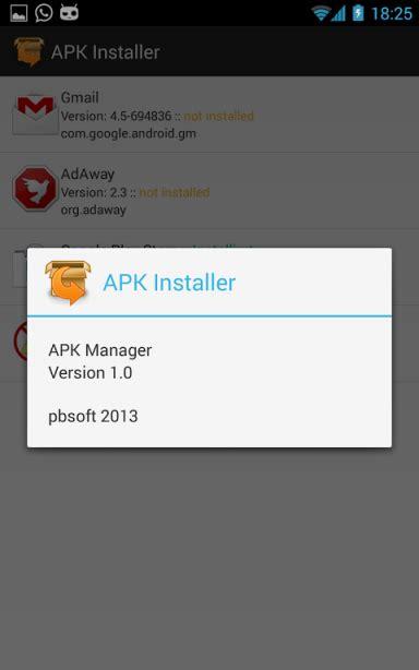 apk installer apk for android aptoide