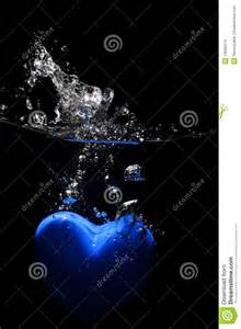 Black and Blue Heart
