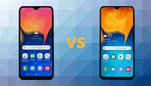 Samsung Galaxy A10e Vs Galaxy A20  Specs Comparison