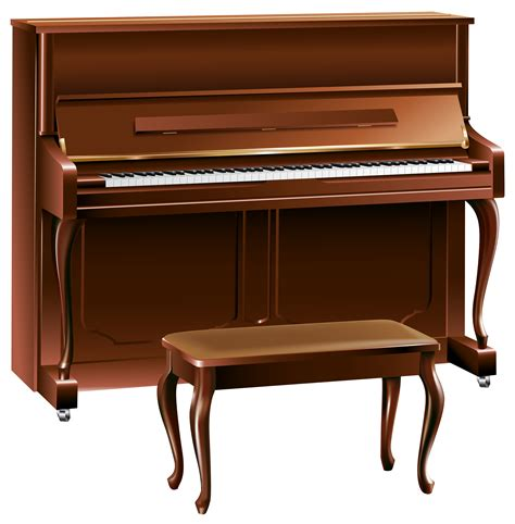 Images Of Piano Brown Clipart Piano Pencil And In Color Brown Clipart Piano