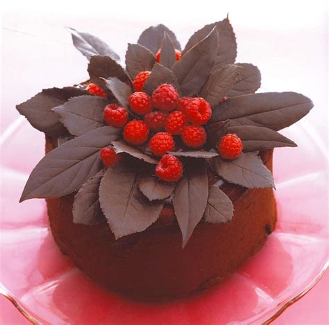 decoration gateau au chocolat