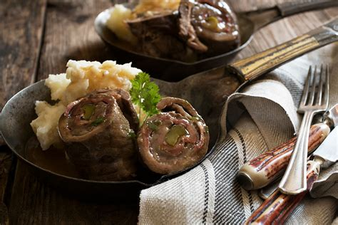 german beef rouladen seasons  suppers