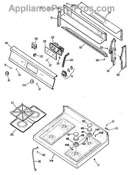 parts  ge jgbpwes section parts appliancepartsproscom
