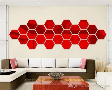 Compre 12 Unids Hexagonal Espejo Protección Ambiental