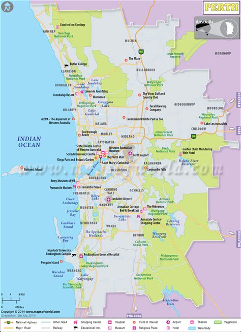 explore map  perth  maps  world perth