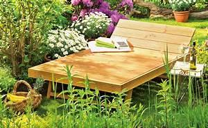 Gartenliege Selber BauenMbel Fr Garten Und Pflanzen