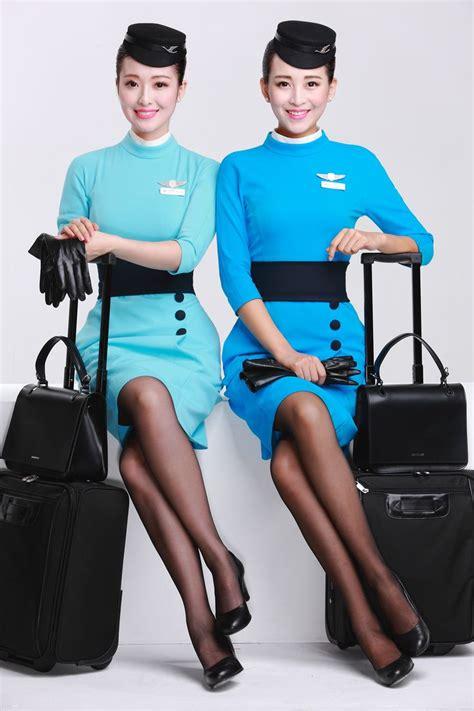 cabin attendants how the new flight attendant uniforms for xiamenair