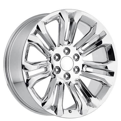 24 quot 2015 gmc wheels chrome oem replica rims oem062 2