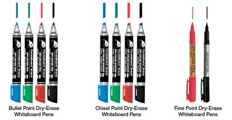 Dry-erase Whiteboard Pens & Markers