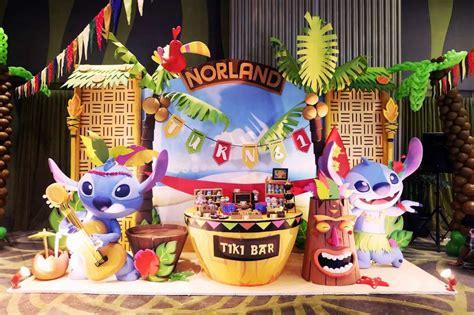 lilo stitch birthday party ideas   hawaiian luau