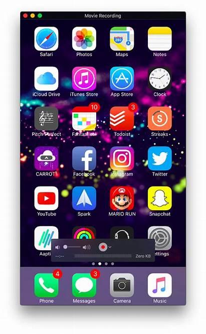 Iphone Screen Ipad Mirror Mac Display Shot