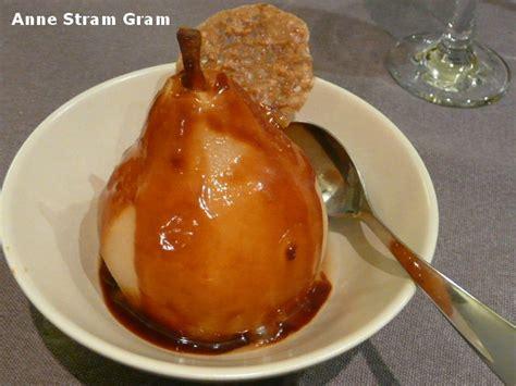 poire poch 233 e caramel au beurre sal 233 stram gram