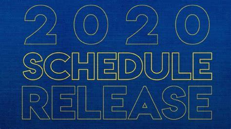SEC releases 2020 football schedule