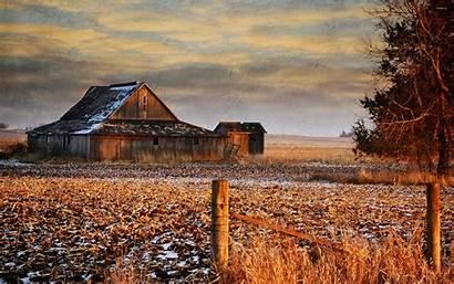 Barn Wallpapers Sunset Barns Desktop Backgrounds Snow