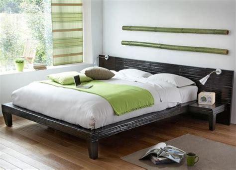 d oration chambre pas cher lit bambou pas cher photo 8 15 du bambou pour une