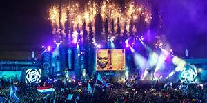 Tomorrowland 2015 Laser Show HD Wallpapers - Wallpaper Cave