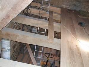 parquet chene massif de 22 mm facile a monter plancher With parquet mezzanine