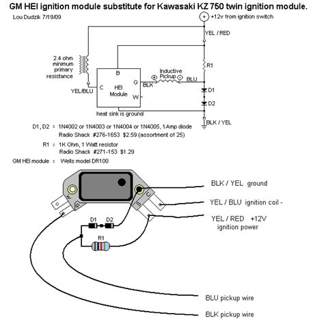 Wiring Diagram General Motor Hei by General Motors Hei Ignition Module For Gpz550
