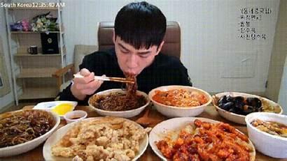 Eating Korean Lots Banzz Enjoying Meal Superfit
