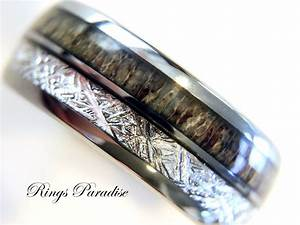 antler ring tungsten wedding bands anniversary ring With who buys the man s wedding ring