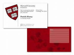 Harvard business card mockup by splat on deviantart for Harvard business card