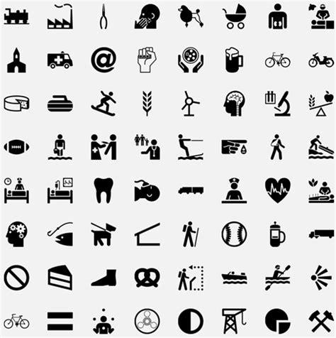 recherche emploi cuisine collection gratuite de pictogrammes simple pour