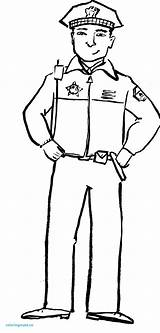 Police Coloring Officer Pages Community Drawing Helpers Policeman Clipart Hat Hats Helper Security Guard Preschool Printing Printable Firefighter Sketch Drawings sketch template