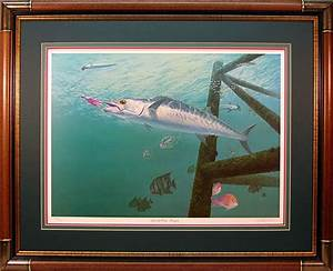 """Life of the Party"" - Kingfish (King Mackerel) by Randy ..."